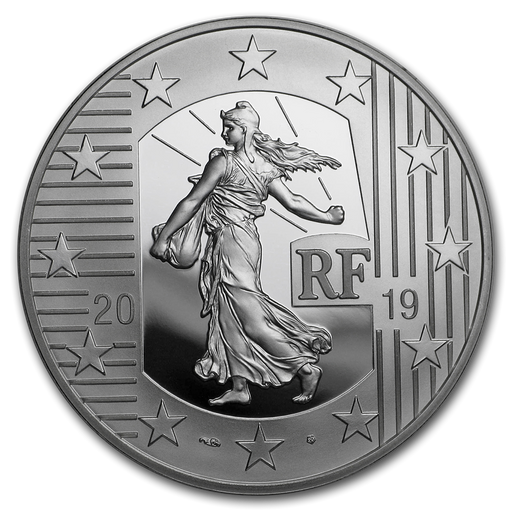 2019 France Silver The Sower Series Proof (The Franc Germinal) - HMint Precious Metals