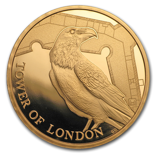 2019 Great Britain Gold Proof Legend of the Ravens - HMint Precious Metals