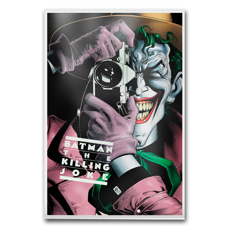 2019 New Zealand 35 gram Silver DC Comics Batman: The Killing Joke - HMint Precious Metals