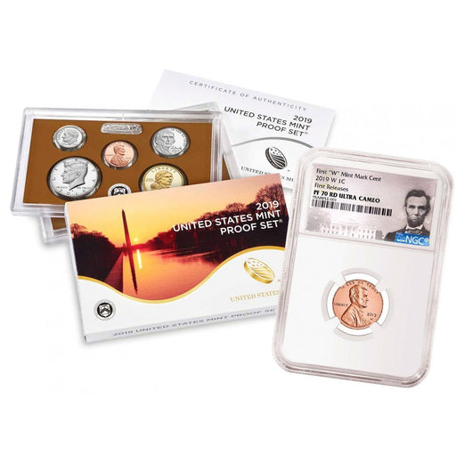2019-S Lincoln Cent NGC PF-70 RD (First Releases) w/ 2019-S U.S. Mint Proof Set - HMint Precious Metals