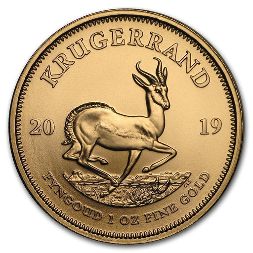 2019 South Africa 1 oz Gold Krugerrand BU - HMint Precious Metals