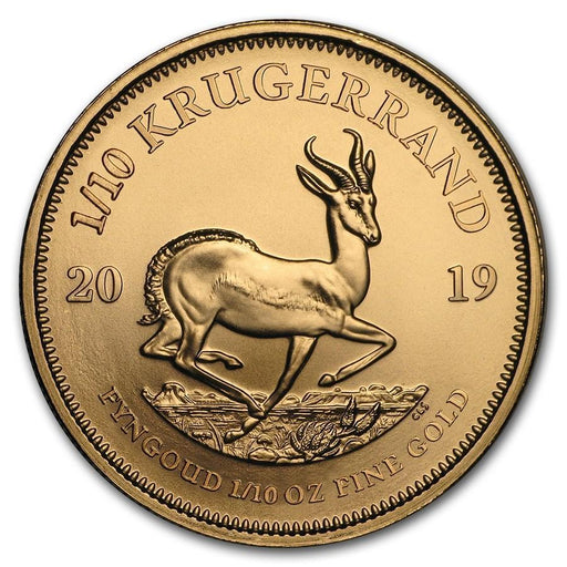 2019 South Africa 1/10 oz Gold Krugerrand - HMint Precious Metals