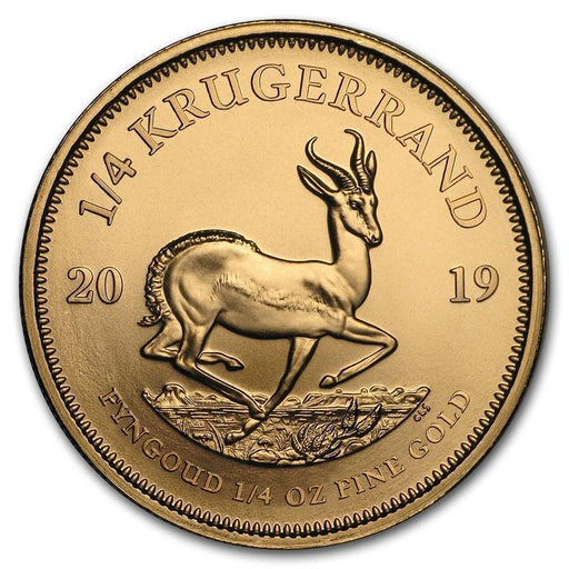 2019 South Africa 1/4 oz Gold Krugerrand - HMint Precious Metals