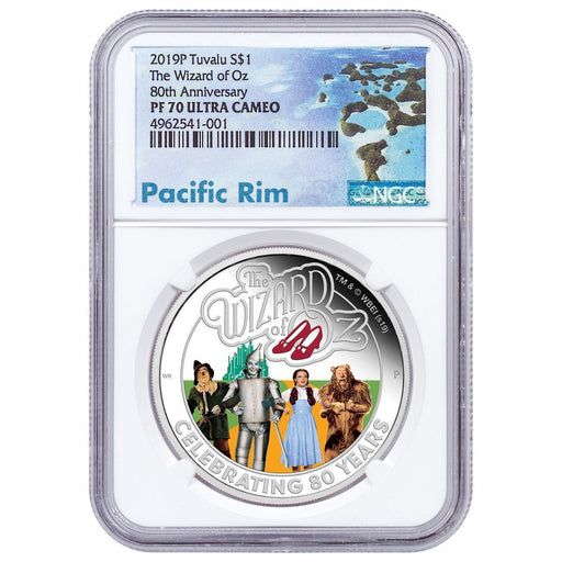 2019 Tuvalu 1 oz Silver The Wizard of Oz Proof NGC PF-70 - HMint Precious Metals