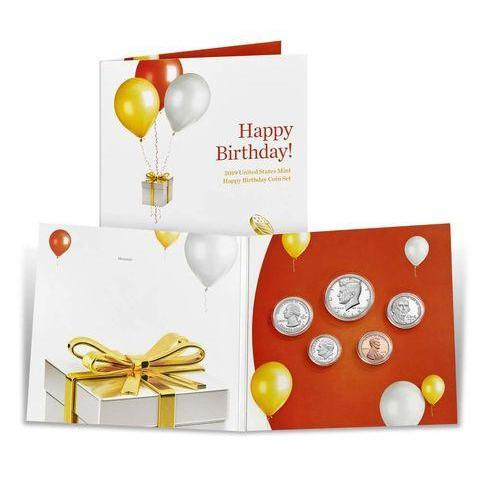 2019 United States Mint Happy Birthday Coin Set - HMint Precious Metals