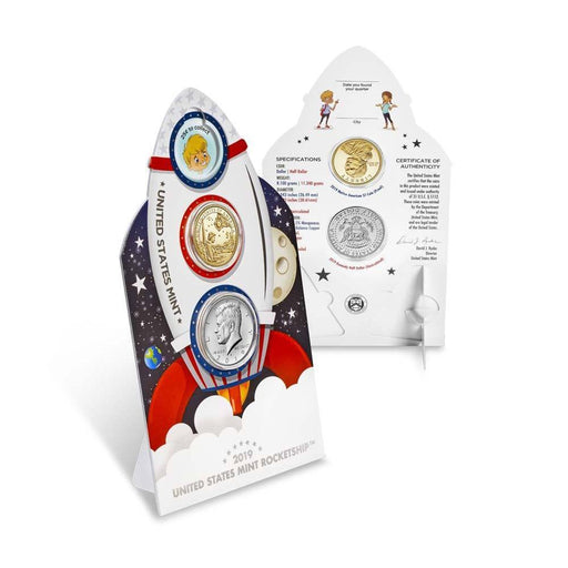 2019 United States Mint Rocketship 2-Coin Set - HMint Precious Metals
