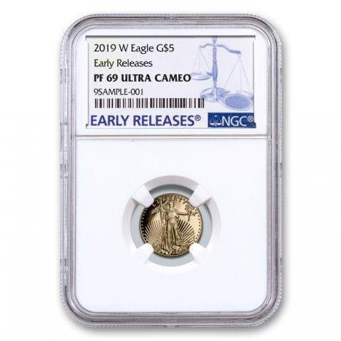 2019-W 1/10 oz Proof Gold American Eagle PF-69 NGC (Early Releases) - HMint Precious Metals