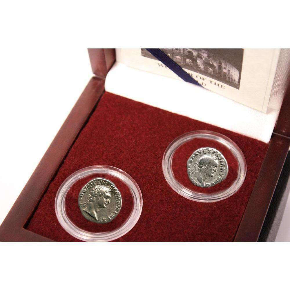 Architects Of The Roman Coliseum: Box of 2 Silver Coins - HMint Precious Metals
