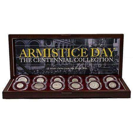 Armistice Day: The Great War Centennial Collection of 12 Silver Coins - HMint Precious Metals