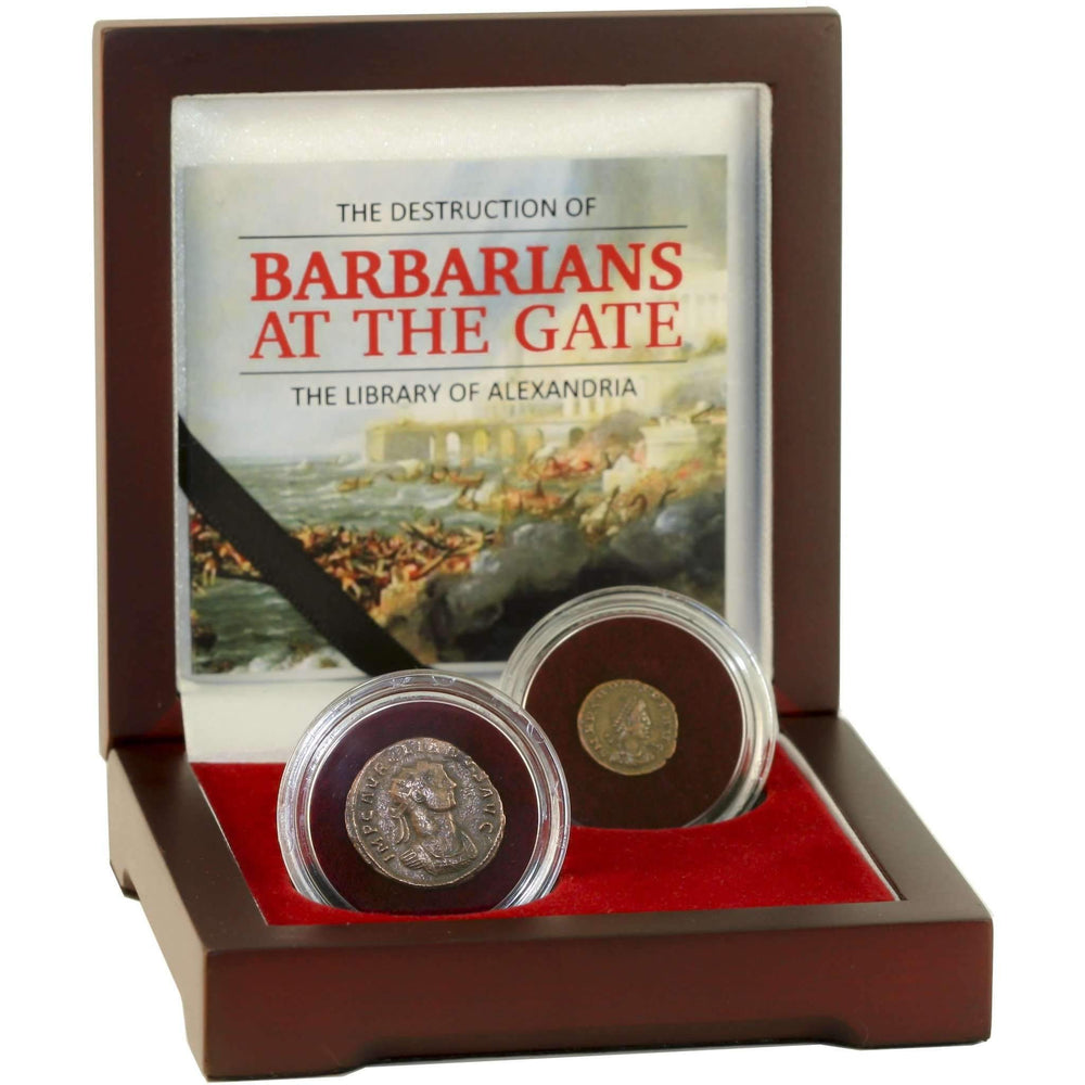 Barbarians at the Gate: The Destruction of the Library of Alexandria - HMint Precious Metals