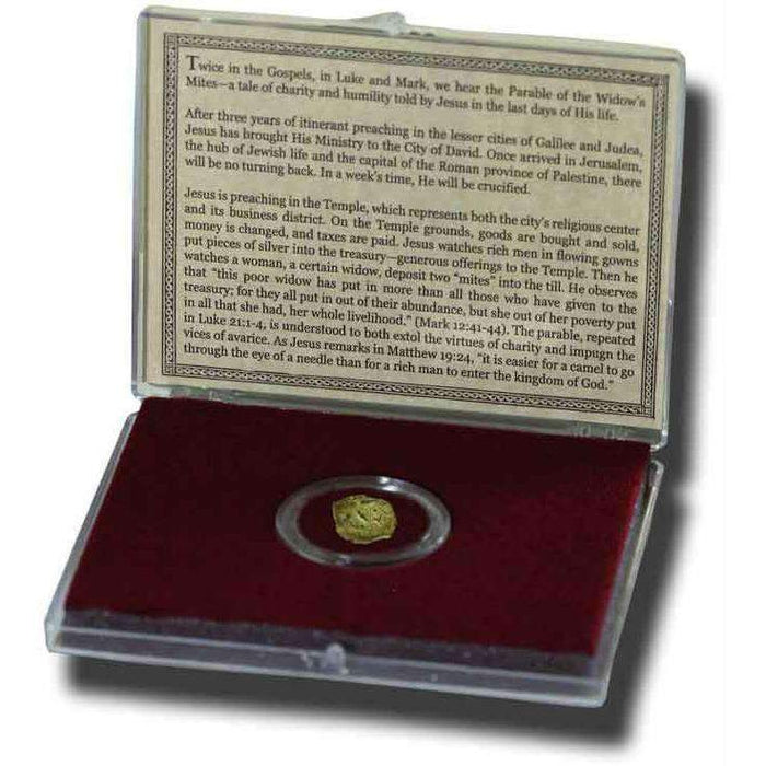 Biblical Widow's Mite: Bronze Coin of Judaea Clear Box (Medium Grade) - HMint Precious Metals