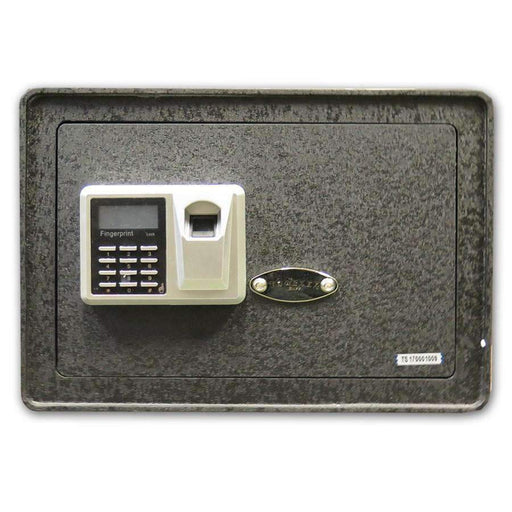 Biometric Fingerprint Security Safe - 0.57 Cubic Feet Storage - HMint Precious Metals
