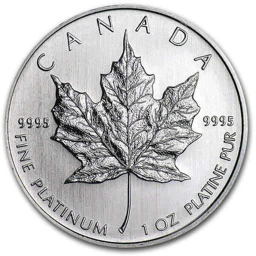 Canada 1 oz Platinum Maple Leaf BU (Random Year) - HMint Precious Metals