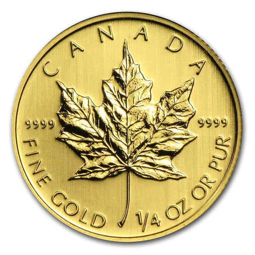 Canada 1/4 oz Gold Maple Leaf (Random Year) - HMint Precious Metals