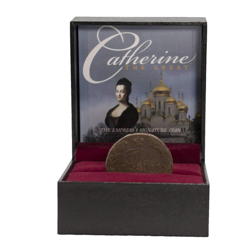 Catherine the Great: The Empress's Signature Coin - HMint Precious Metals