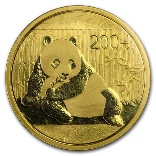 China 1/2 oz Gold Panda BU (Random Year, Sealed) - HMint Precious Metals