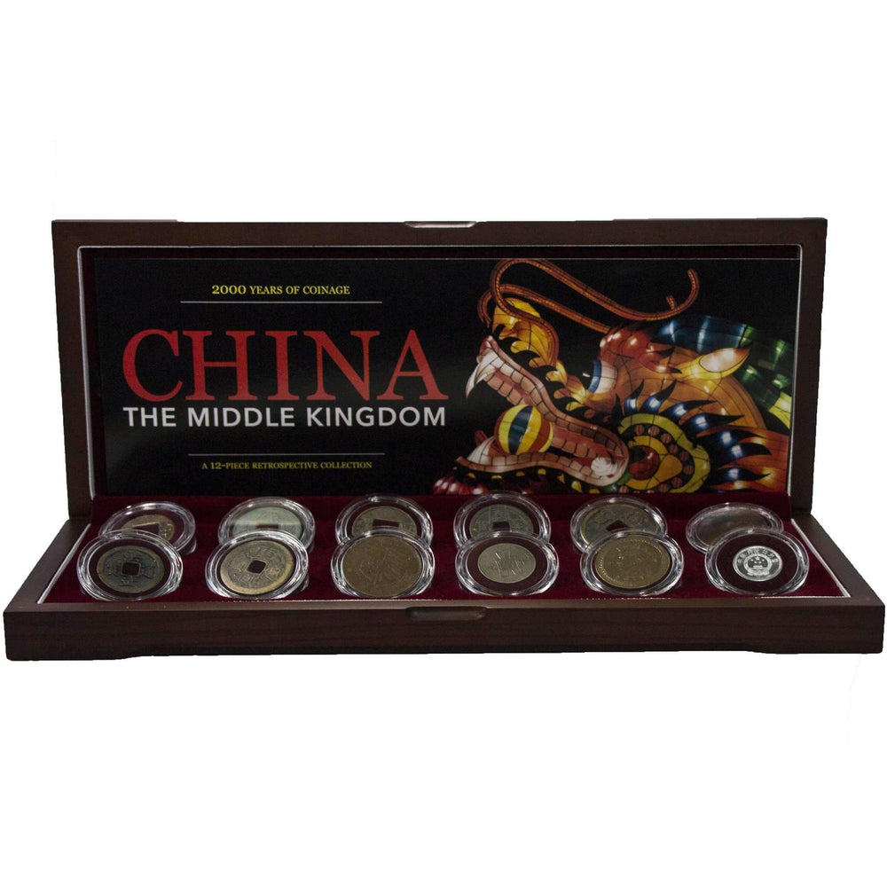 China: The Middle Kingdom - 12-Piece Retrospective Collection - HMint Precious Metals