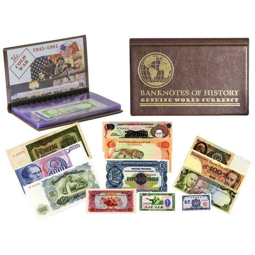 Cold War 12 Banknote Collection Folio - HMint Precious Metals
