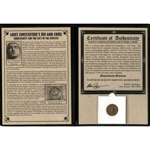 Constantine the Great: Sun God Album - HMint Precious Metals