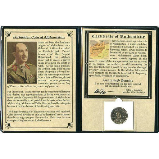 Forbidden Coin Of Afghanistan Album - HMint Precious Metals