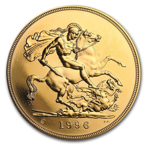 Great Britain Gold 5 BU/Proof (Random Year) - HMint Precious Metals