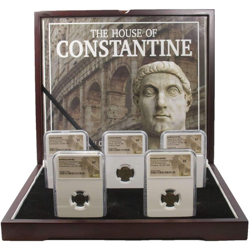 House of Constantine: A Collection of Five Slabbed Coins - HMint Precious Metals