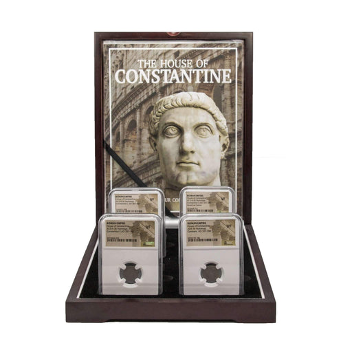 House of Constantine: Four NGC-Certified Roman Bronze Coins - HMint Precious Metals