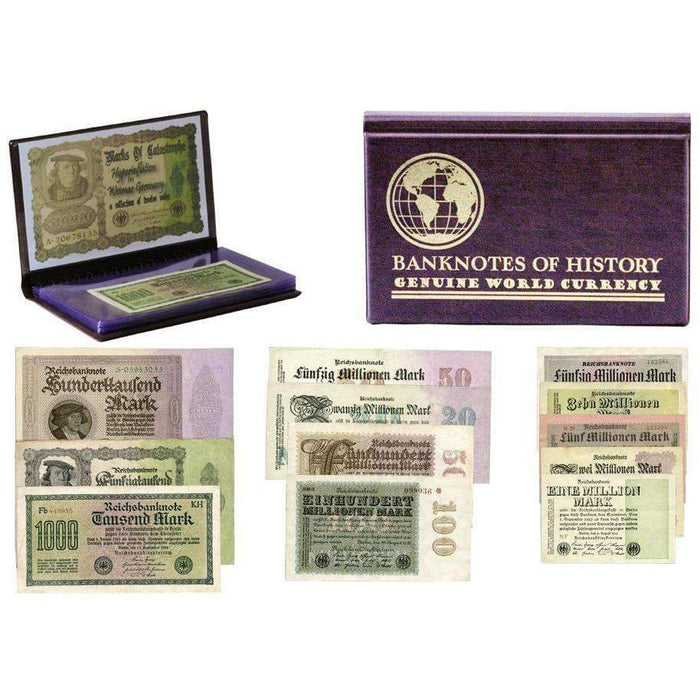 Hyperinflation in Weimar Germany, A Collection of Twelve Notes - HMint Precious Metals
