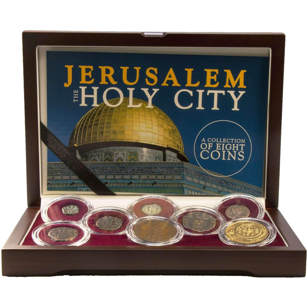 Jerusalem: The Holy City: A Collection of 8 Coins - HMint Precious Metals