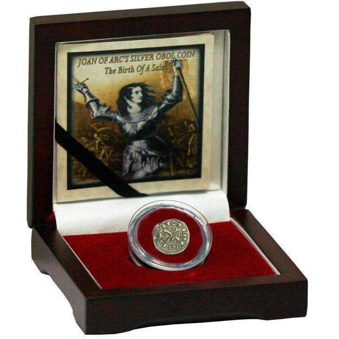 Joan Of Arc's Silver Obol Coin: The Birth of a Saint - HMint Precious Metals