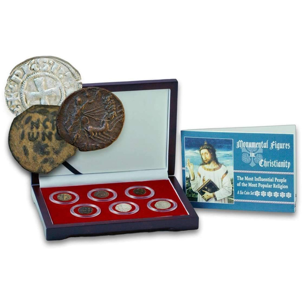 Monumental Figures in Christianity: Box of 6 Coins - HMint Precious Metals
