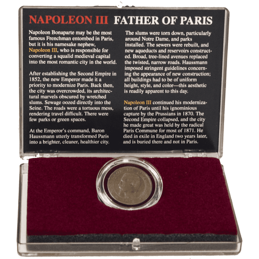 Napoleon III: Father of Paris - HMint Precious Metals