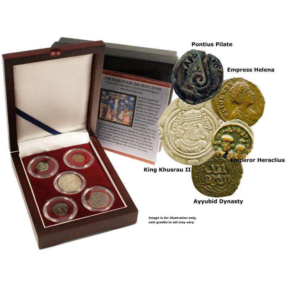Search for the True Cross: Box of 5 Ancient Coins - HMint Precious Metals