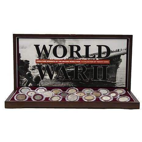 Signature Moments of the Second World War: Collection of 20 Coins - HMint Precious Metals