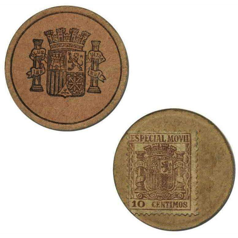 Spanish 10 Centimes Stamp Money - HMint Precious Metals