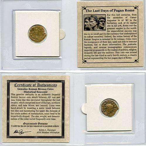 The Last Days of Pagan Rome Mini (C) - HMint Precious Metals