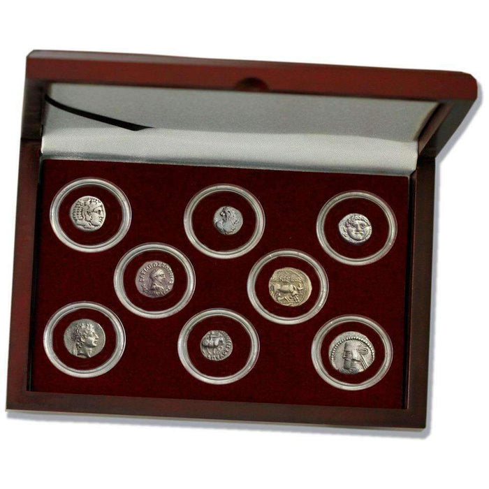 The Legacy of Alexander the Great:-A History in 8 Silver Coins of the Greek World Box - HMint Precious Metals
