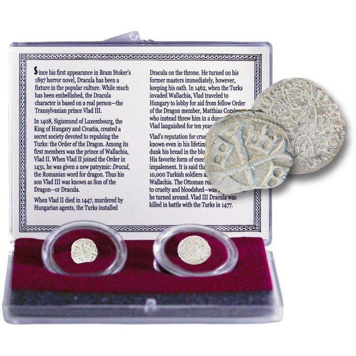 THE REAL LIFE DRACULA: A Collection of Two Silver Coins (C) - HMint Precious Metals