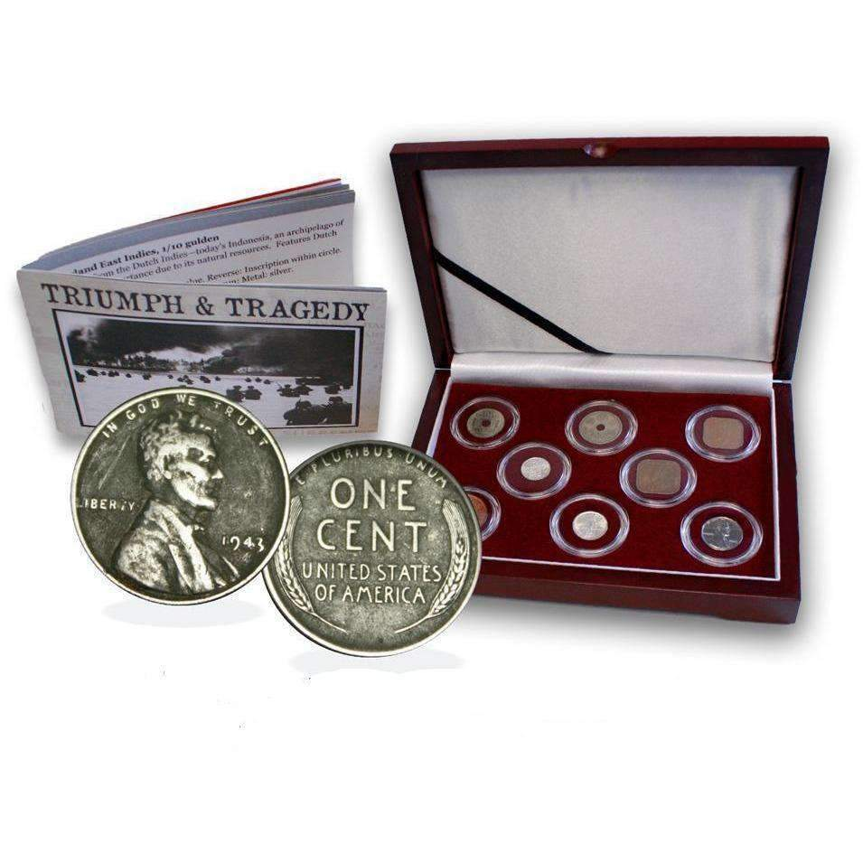 Triumph & Tragedy Box: The Second World War Pacific Theater (WWII) - HMint Precious Metals