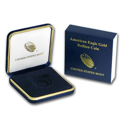 United States Mint Box - 1/2 oz Gold American Eagle - HMint Precious Metals