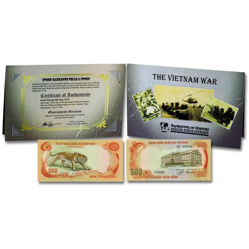 Vietnam 500 Dong Single Banknote Folder - HMint Precious Metals