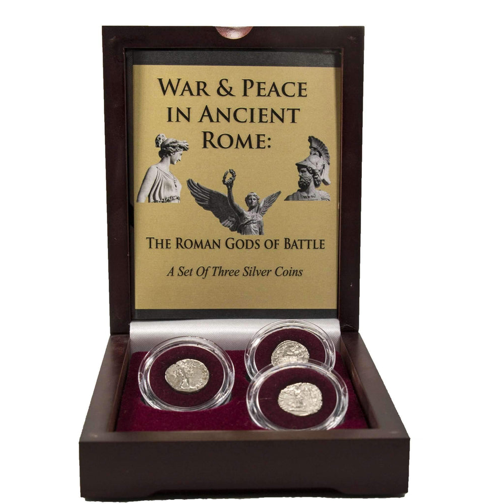 War & Peace in Ancient Rome: Roman Gods of Battle Box - HMint Precious Metals