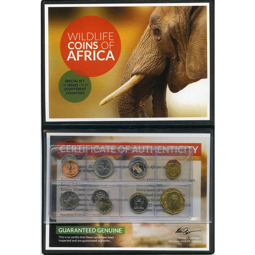Wildlife Coins Of Africa Album: Legal Tender of 15 Different African Nations - HMint Precious Metals