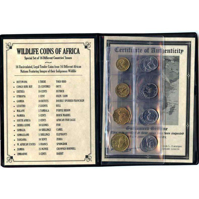 Wildlife Coins Of Africa Album: Legal Tender Of 16 Different African Nations - HMint Precious Metals