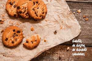 Galletas con Chispas de Chocolate Saludable