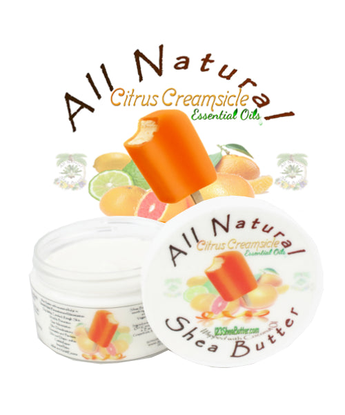 Citrus Creamsicle Shea Butter 4oz Jar