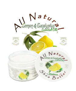 Lemon and Eucalyptus Shea Butter