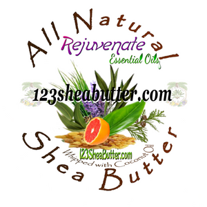 Rejuvenate Blend Shea Butter 1.07oz Jar