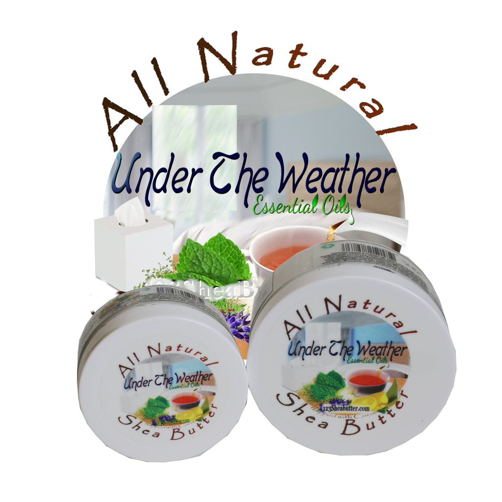 Under The Weather Blend Shea Butter Travel Size 2oz