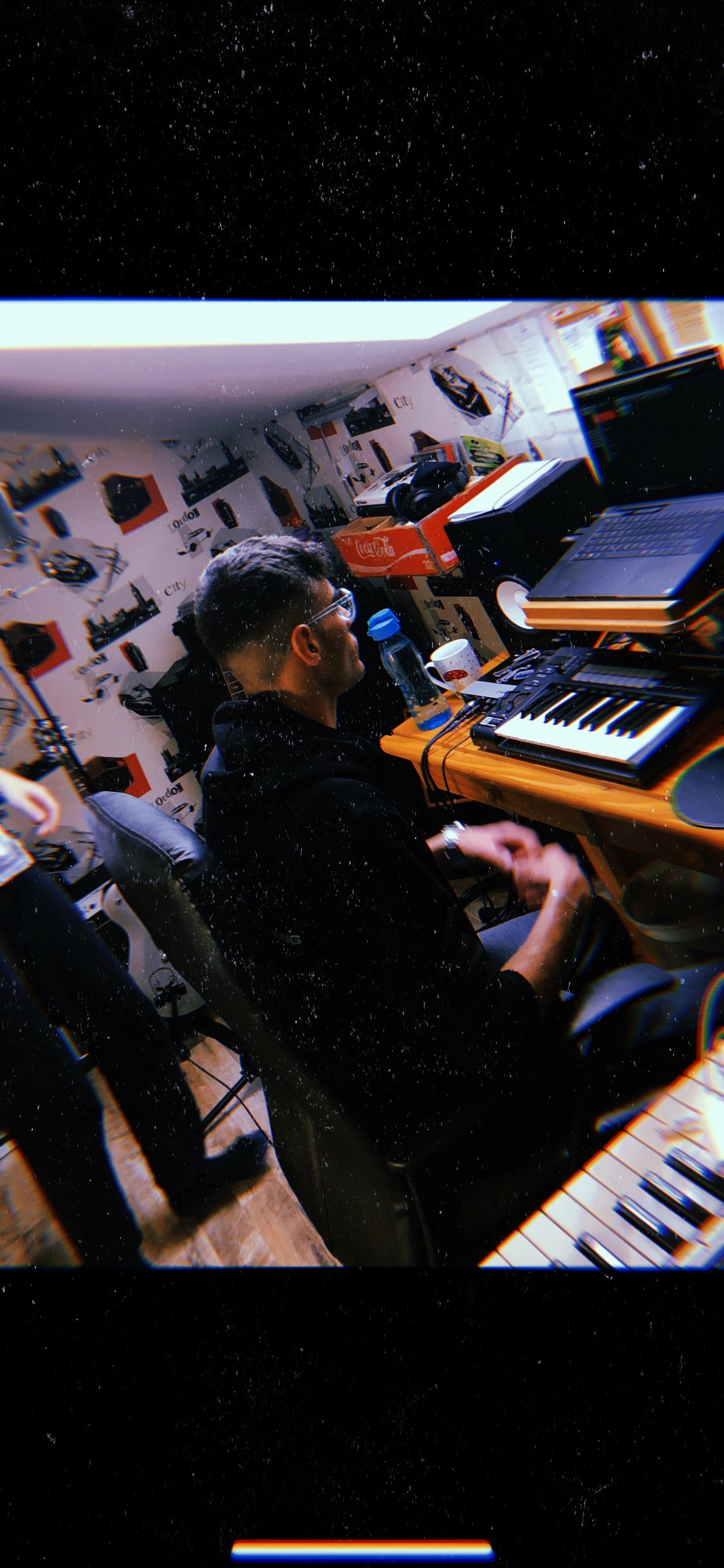 DONMD in the studio